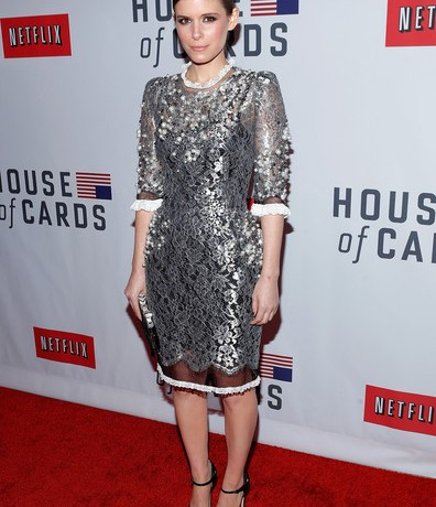 Kate Mara lands Best Dressed of the Week in Dolce & Gabbana