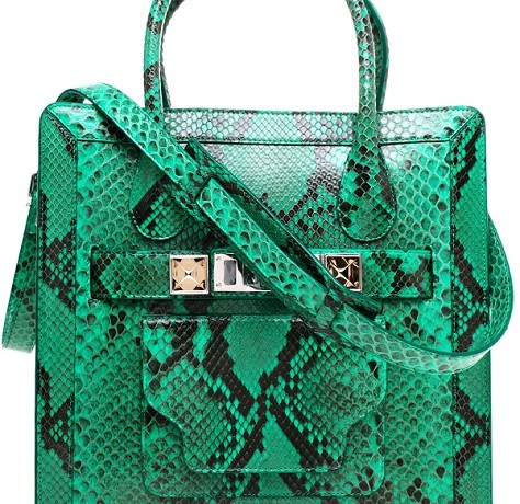 Proenza Schouler PS11 Python Leather Tote: Yay or Nay?