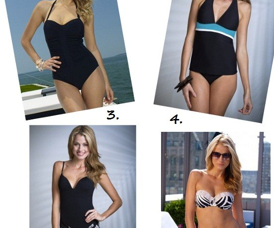 Four swimsuits for any holiday occasion!