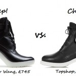 Steep vs. Cheap: Heeled cut-out ankle boots