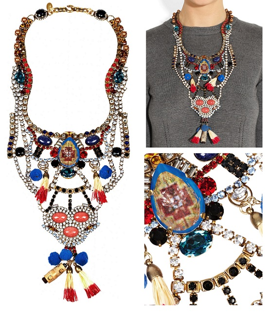 Erickson Beamon Swarovski Crystal Bib Necklace: Yay or Nay?