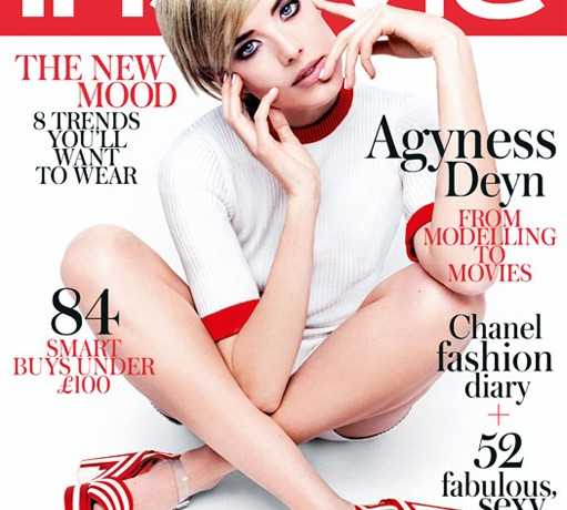 Rankin shoots Agyness Deyn for InStyle UK March