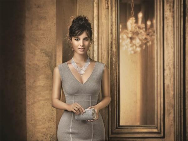 Berenice Marlohe dazzles for Swarovski's Sparkling Moments ad