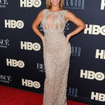 Beyonce dazzles at Life is But a Dream premiere in sparkly Elie Saab