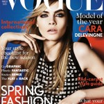 Cara Delevingne fronts British Vogue's all-important March issue