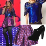 Get Ella Henderson's metallic X Factor tour look