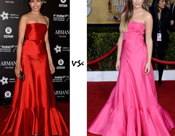 Freida Pinto vs. Lea Michele: Who wore Valentino better?