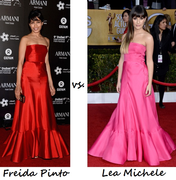 freida vs lea in Valentino