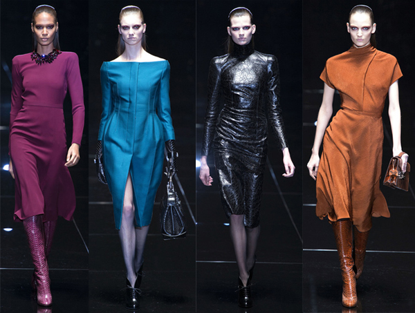 Milan Fashion Week AW13 highlights from Gucci and Alberta Ferretti