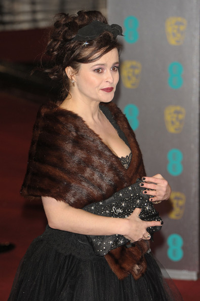 Helena Bonham Carter as Elizabeth Taylor in BBC drama