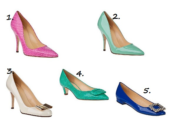 Five fab heels guaranteed to put a spring in your step!