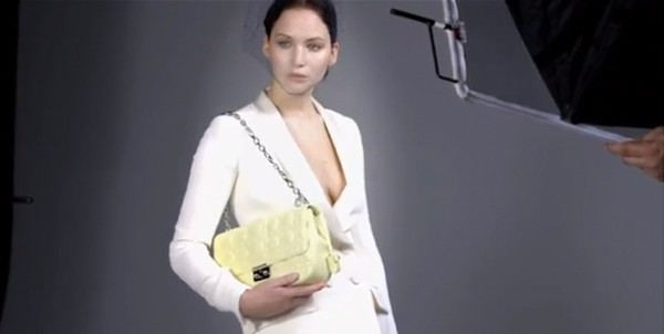 Watch Jennifer Lawrence's behind-the-scenes Miss Dior video