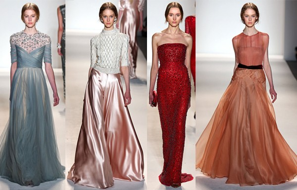 New York Fashion Week AW13 highlights from Jenny Packham, Oscar de la Renta, Vera Wang & more