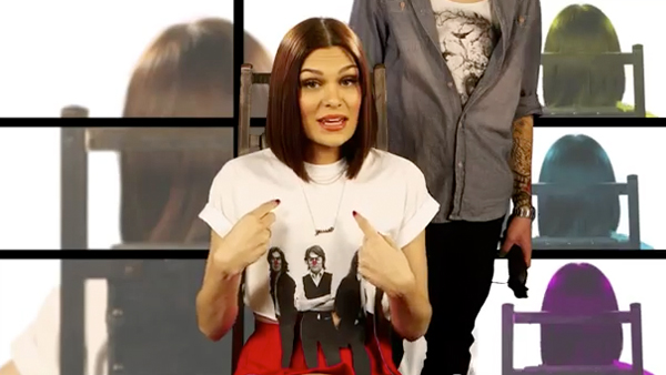 Jessie J WILL shave her head for Comic Relief!