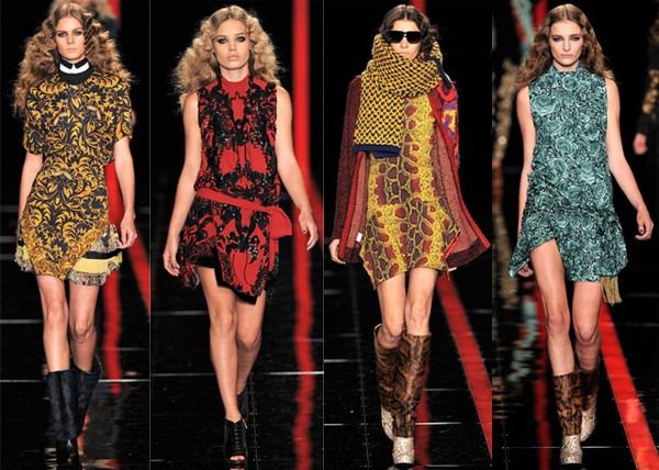 Milan Fashion Week AW13 highlights from Just Cavalli, Fendi, Prada and Max Mara