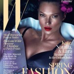 W taps Kate Moss, Lara Stone and Natalia Vodianova for its March issue