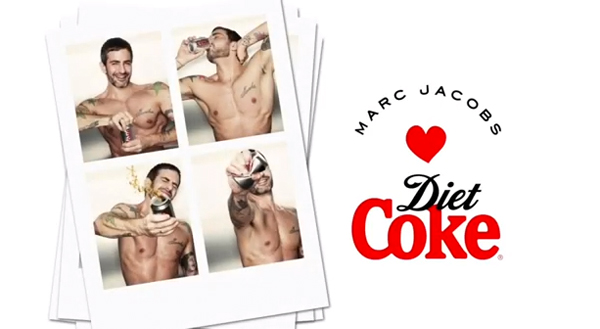 Marc Jacobs is the new Creative Director for Diet Coke!