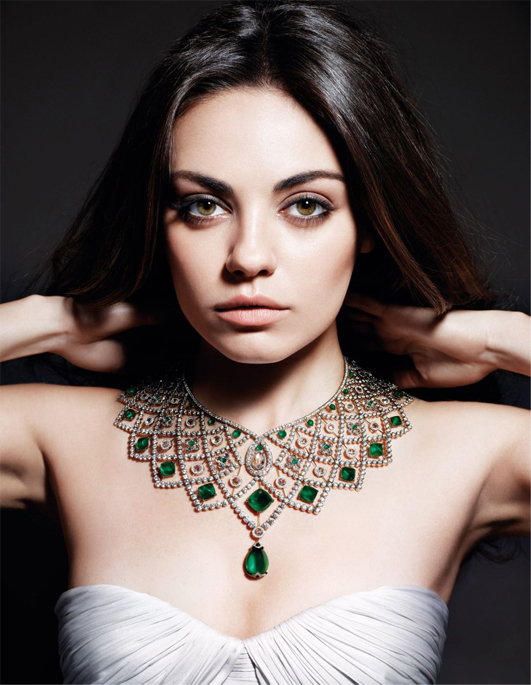 Mila Kunis named Gemfields Global Brand Ambassador