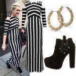 Get Miley Cyrus's stripy ASOS look