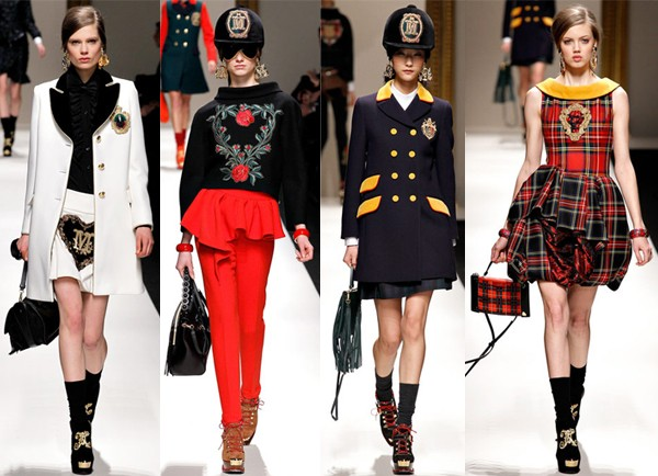 Milan Fashion Week AW13 highlights from Moschino, Dolce and Gabbana, Missoni and more