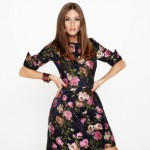 Olivia Palermo models Oscar de la Renta for The Outnet
