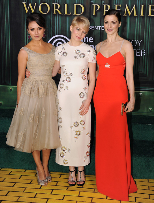 Oz the Great and Powerful leading ladies are spellbinding at Hollywood premiere