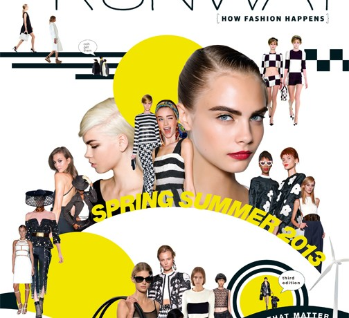 Marie Claire's SS13 Runway mag and app out now!