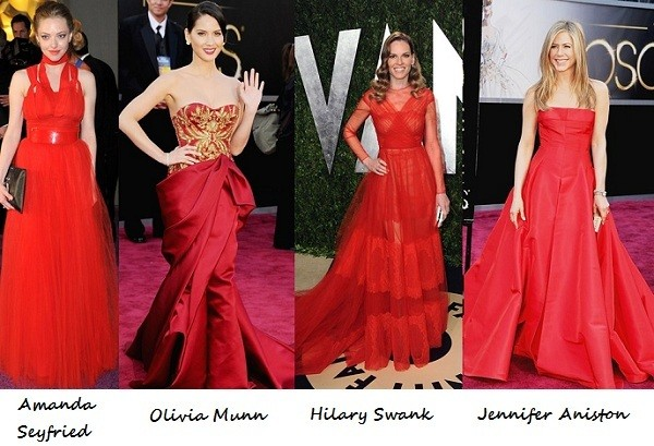 Oscars vs. Governer's Ball vs. Vanity Fair after-party: Who looked best in red?