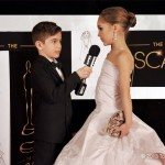 Tiny impersonators recreate their fave Oscars red carpet looks