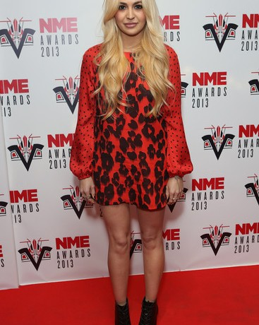 Zara Martin impresses on the NME Awards red carpet