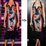 Candice Swanepoel vs. Michelle Dockery: Who wore Peter Pilotto better?