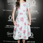 Emmy Rossum scoops Best Dressed of the Week in Oscar de la Renta