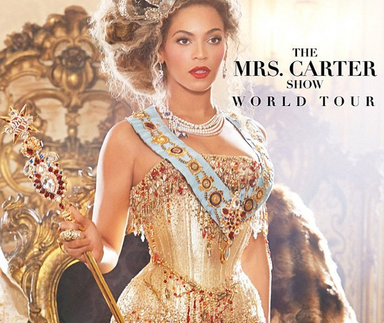 Julien Macdonald to design Beyonce's Mrs Carter tour wardrobe