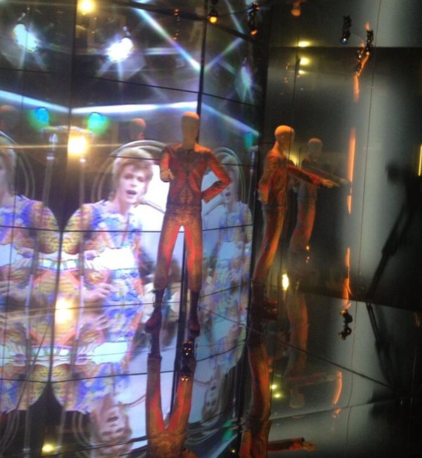 Sneak peek at the David Bowie Is exhibit at the V&A