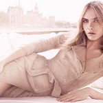 Cara Delevingne poses pretty for Burberry Tender fragrance