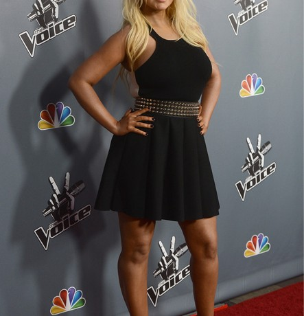 Christina Aguilera looks smokin' on The Voice screening red carpet