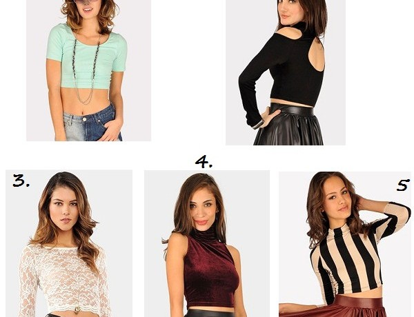Five insanely cute cropped tops