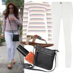 Get Eva Longoria's casual spring-ready look