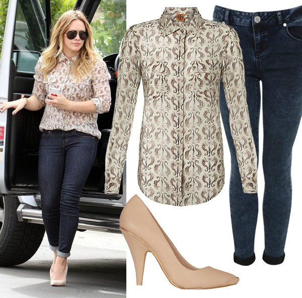 Get Hilary Duff's yummy mummy look