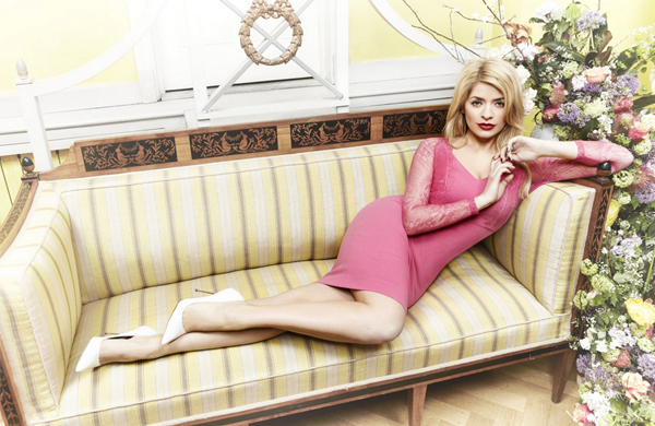 Flower power for Holly Willoughby's spring/summer Very collection