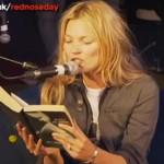 Watch Kate Moss read Fifty Shades of Grey for Comic Relief