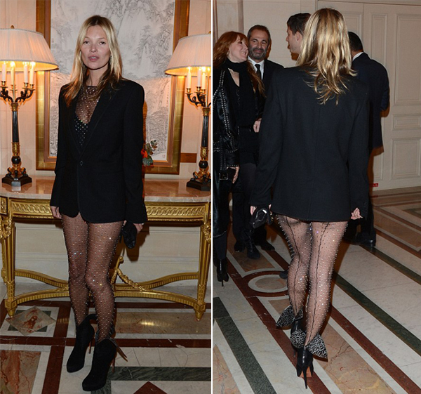 Love or Hate: Kate Moss's racy, sparkly catsuit