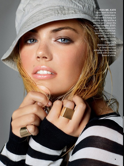 Kate Upton to get her American Vogue cover debut this June!