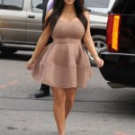 "Kim Kardashian wants you to know she isn't ""200 pounds""!"