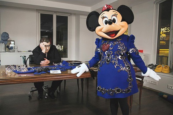 Minnie Mouse gets a mature Lanvin makeover