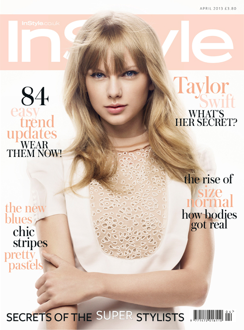"""I don't wanna end up being awful and intolerable"" – Taylor Swift, InStyle UK April"