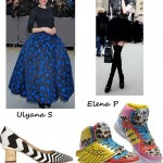 FASHION CHARTS: going UP and going DOWN this month