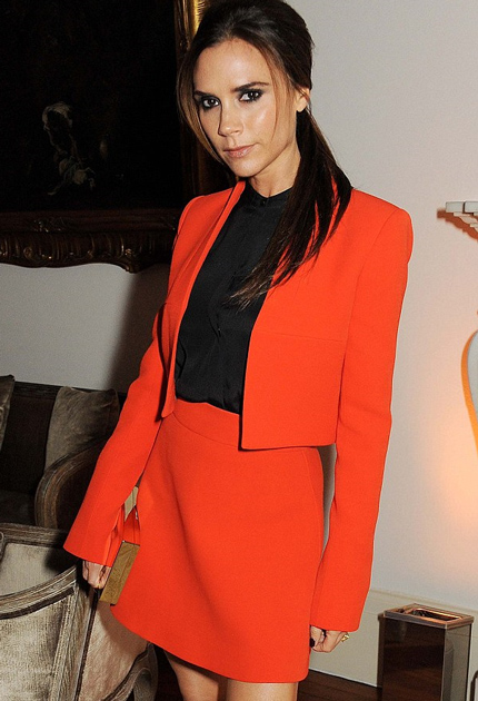 Victoria Beckham ditches the fake tan for good!