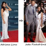 Adriana Lima vs. Jada Pinkett Smith: Who wore Alberta Ferretti better?