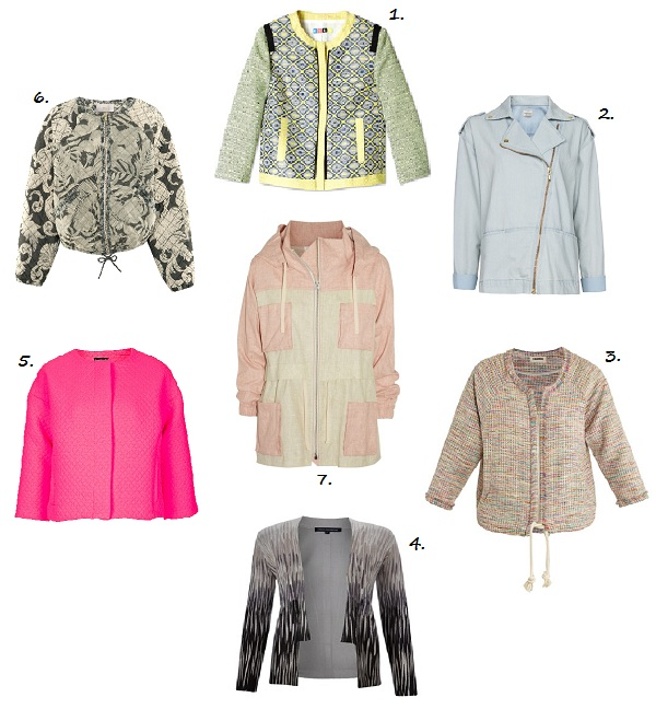 7 laid-back spring jackets for the ultimate in weekend chic